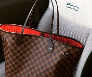 fiat, Louis Vuitton, and fiat500 image