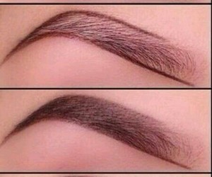 beauty, eyebrows, and tutorial image