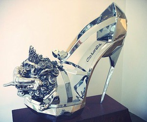 shoes, heels, and cinderella image