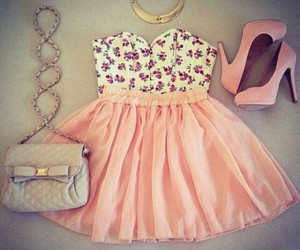 accessories, pink, and love image
