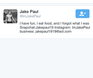 twitter, faved, and jake paul image