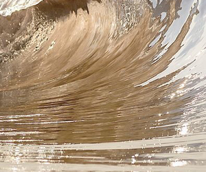 aesthetic, waves, and water image