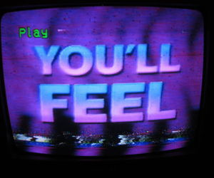 grunge, tv, and purple image