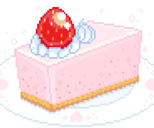 cake, kawaii, and pale image