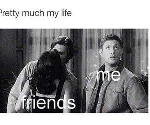 friends, funny, and me image
