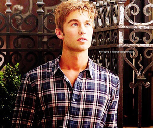 blue eyes, boy, and Chace Crawford image