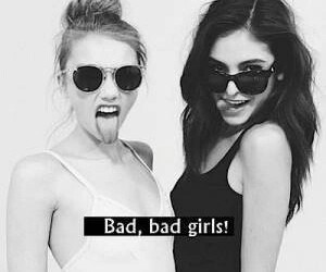 girl, bad, and bad girls image
