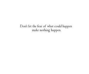 fear, girl, and happen image