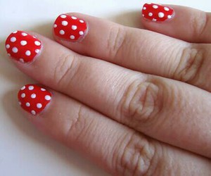 girly, nails, and trendig image