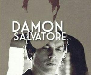 damon salvatore, delena, and tvd image