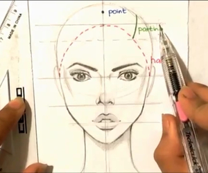 face, fashion illustration, and how to draw image