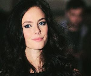 black hair, KAYA SCODELARIO, and blue eyes image