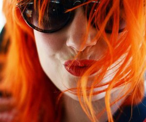 hayley williams, paramore, and orange hair image