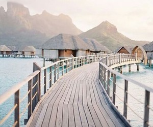 travel, sea, and beach image