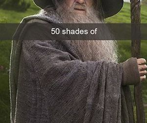 gandalf, lord of the rings, and dumbledoor image