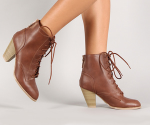 bootie, boots, and fashion image
