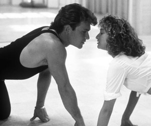 dirty dancing, jennifer grey, and johnny castle image