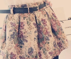rock, skirt, and vintage image