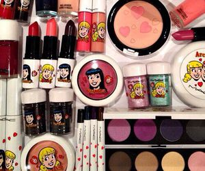 mac, beauty, and girl image