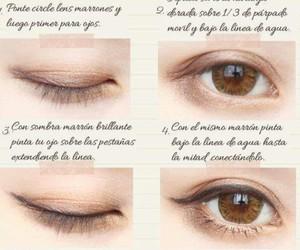 brown, eye, and kawaii image