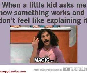 funny, magic, and lol image