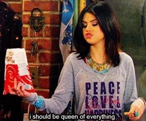 selena gomez, Queen, and quote image