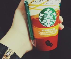 caramel, coffe, and orange image
