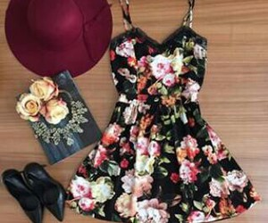 dress, velvet, and outfit image