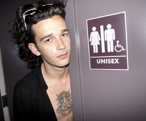 the 1975, grunge, and matty healy image