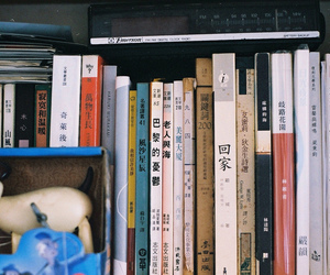 books, japanese, and photography image