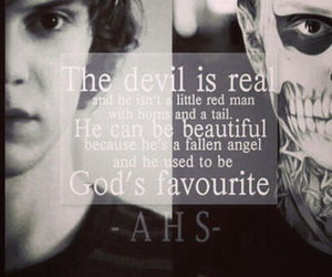 american horror story, ahs, and Devil image