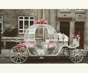 pink, bride, and car image