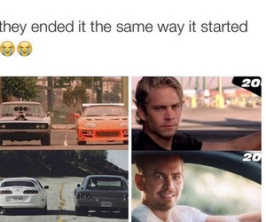paul walker, rip, and sad image