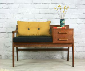 60's, decor, and home image