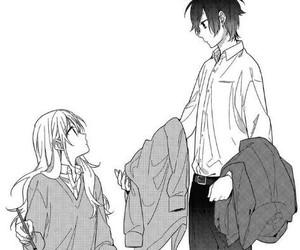 manga, horimiya, and miyamura image