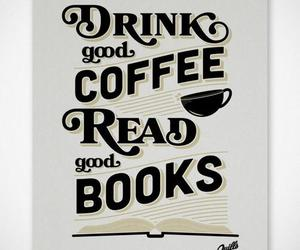 book, coffee, and quote image