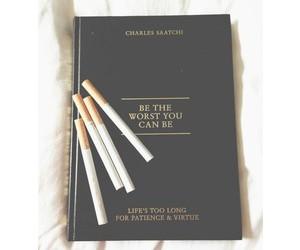 book and cigarette image
