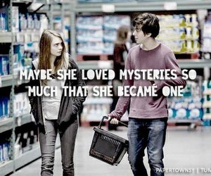 john green, MARGO, and paper towns image