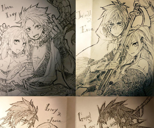 fairy tail, gale, and nalu image
