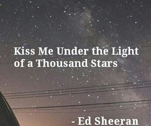 thinking out loud, Lyrics, and kiss image