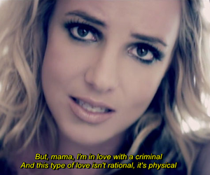 britney spears and criminal image