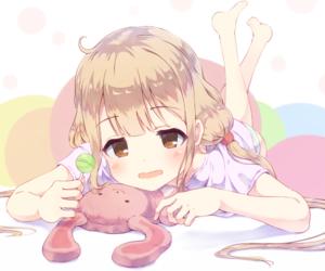 anime, sweet, and anime girl image