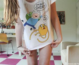 adventure time, shirt, and tumblr image