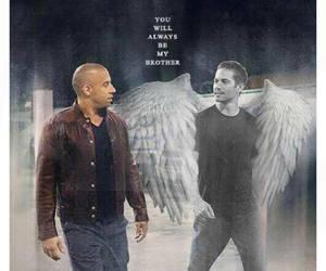 paul walker, Vin Diesel, and brothers image