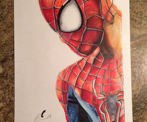 amazing, drawing, and spider-man image