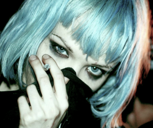 hair, Alice Glass, and grunge image