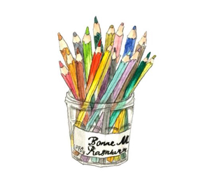 anime, art, and color image