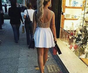 fashion, dress, and hair image