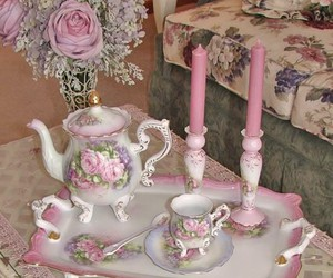 antique, vase, and candles image