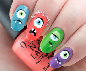 nails and monster image